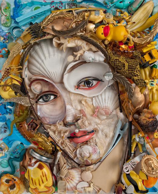 oeuvre de Bernard Pras Venus visible Galerie Tony Rocfort La Baule