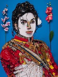 Michael Jackson cibachrome de Bernard Pras