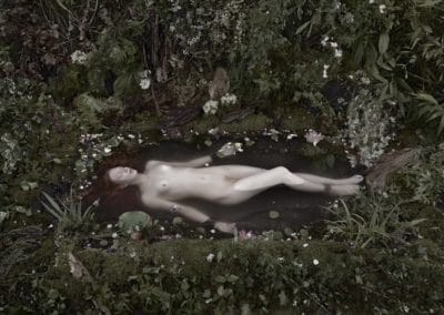 Ophelia photographie contemporaine gerard Rancinan
