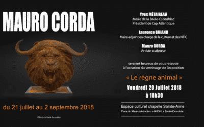 """Exposition M.Corda """"Le règne Animal"""" à La Baule"""