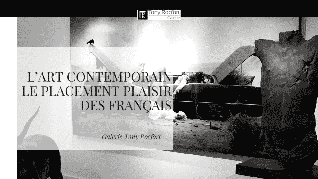 Art contemporain placement plaisir des francais