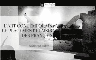 L'Art Contemporain: Le placement plaisir des Français !