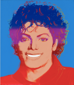 Michael Jackson par Andy Wharol