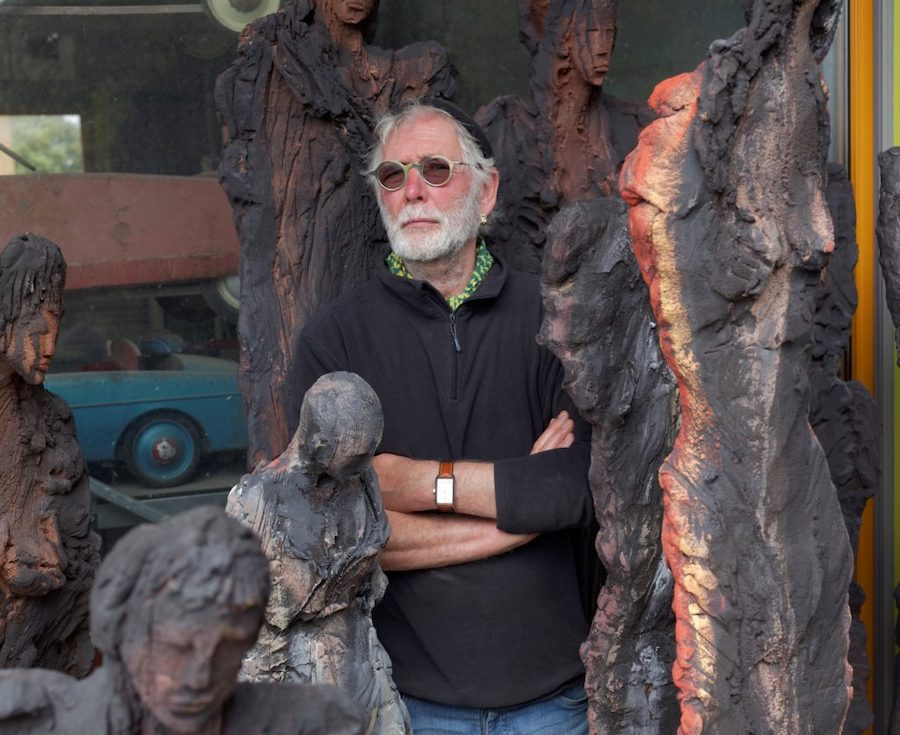 Michel Wohlfart le potier devenu artiste scultpeur